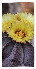 Beach Sheet featuring the photograph Bishop's Cap Cactus  by Saija Lehtonen