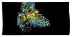 Bismuth Crystal Beach Towel