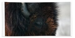 Bison Bull's Eye Beach Towel