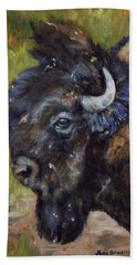 Bison Study 5 Beach Sheet