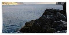 Black And Gold Beach Sheet