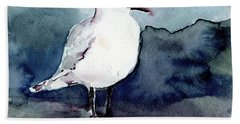 Black-billed Gull Beach Towel