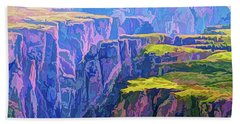 Black Canyon Colorado Beach Towel