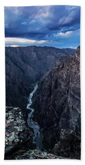 Black Canyon Of The Gunnison National Park Beach Sheet