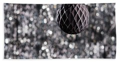 Beach Towel featuring the photograph Black Christmas by Ulrich Schade
