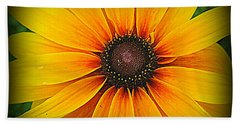 'black Eyed Susan' Beach Towel