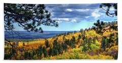Black Hills Autumn Beach Sheet