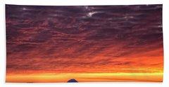 Black Hills Sunrise Beach Towel