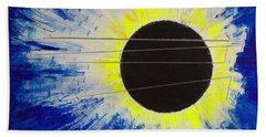 Black Hole Blues Beach Sheet