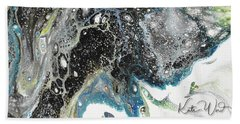 Black Ice 3 Beach Towel