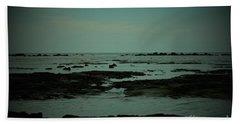 Black Rock Beach Beach Sheet by Mini Arora