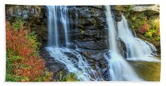 Black Water Falls #3 Beach Towel