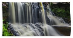 Black Water Falls Beach Towel