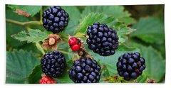 Blackberries 2 Beach Towel