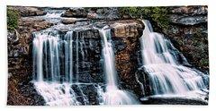 Blackwater Falls, West Virginia Beach Towel