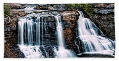 Beach Sheet featuring the photograph Blackwater Falls, West Virginia by Skip Tribby