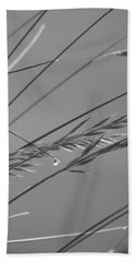 Blades Of Gray Beach Towel
