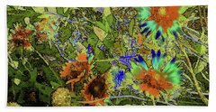 Blanket Flower II Beach Towel