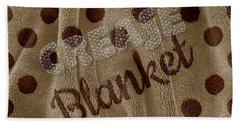 Blanket Beach Towel by La Reve Design