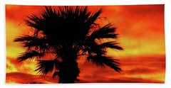 Blaze Beach Towel