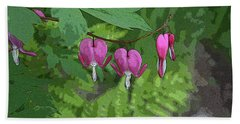 Bleeding Hearts 2 Beach Towel