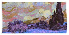 Blend 20 Van Gogh Beach Towel by David Bridburg