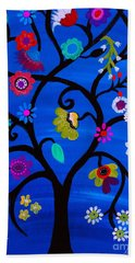 Blessed Tree Of Life Beach Sheet