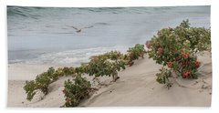 Beach Towel featuring the photograph Bliss On A Breeze by Robin-Lee Vieira