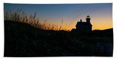 Block Island North Light Beach Towel