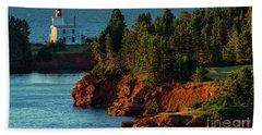 Blockhouse Point Lighthouse Beach Towel