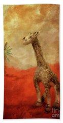 Beach Towel featuring the digital art Block's Great Adventure by Lois Bryan