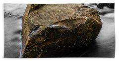 Beach Sheet featuring the photograph Blonde Rock by Brian Jones