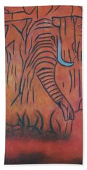Blood Ivory Beach Towel