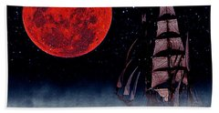 Blood Moon Beach Towel