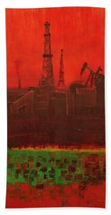 Blood Of Mother Earth Beach Towel