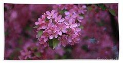 Blooming Pink Fantasy Beach Sheet