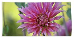 Blooming Pink Beach Towel by Patricia Strand