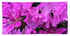 Blooming Rhododendron Beach Sheet