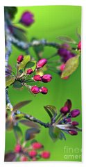 Blooming Spring Poetry Beach Towel