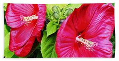 Blooms And Buds Beach Towel