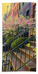 Blooms Of New York Beach Towel