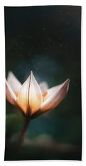 Blossoming Light Beach Towel