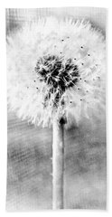 Blowing In The Wind Pencil Effect Beach Towel