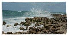 Blowing Rocks Preserve Jupiter Island Florida Beach Towel