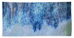 Blue Abstract One Beach Sheet