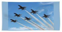Blue Angels Delta Beach Sheet