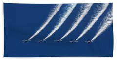 Blue Angels Formation Beach Towel
