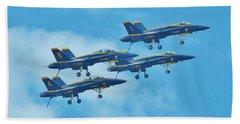 Blue Angels Beach Sheet