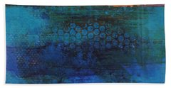 Blue Awakening Beach Towel