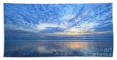 Beach Home Blues Beach Sheet